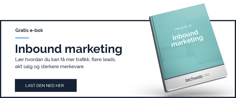 Gratis e-bok: Inbound marketing
