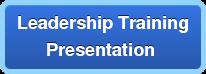 Leadership Training Presentation