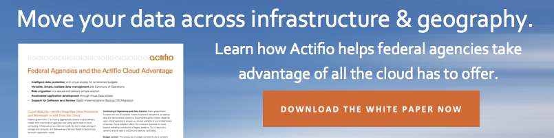 Move your data across infrastructure & geography. Download the white paper now.