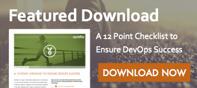 Featured Download - A 12 Point Checklist to Ensure Your Team's DevOps Success. Download now!