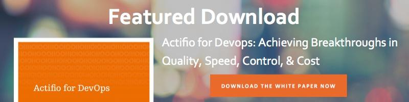 Featured Download - Actifio for DevOps White Paper. Download Now!