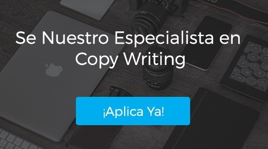 Copy Writing Oferta de Trabajo