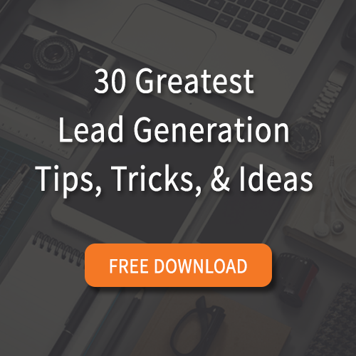 30 Greatest Lead Generation Tips Free eBook