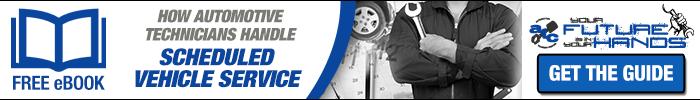 How Automotive Technicians Handle Scheduled Vehicle Service