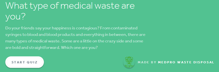 what type of medical waste are you quiz