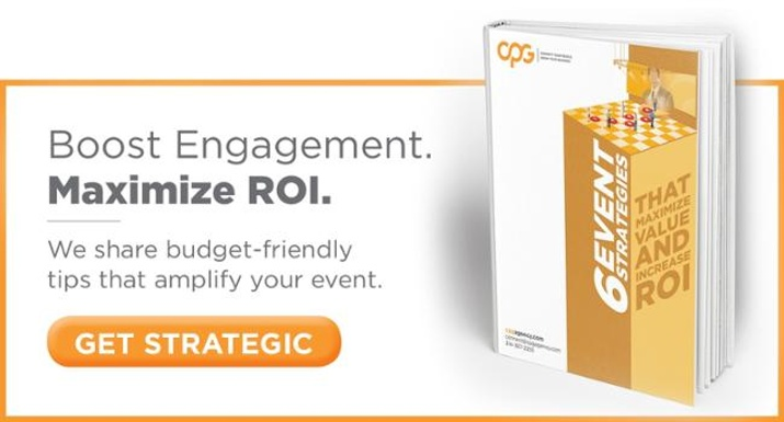 Download our free eBook about maximizing your event ROI.