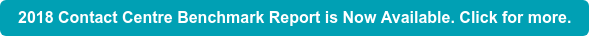 2018 Contact Centre Benchmark Report is Now Available. Click for more.