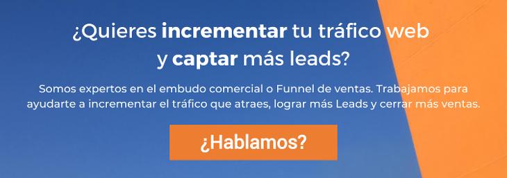 Incrementar tu tráfico web