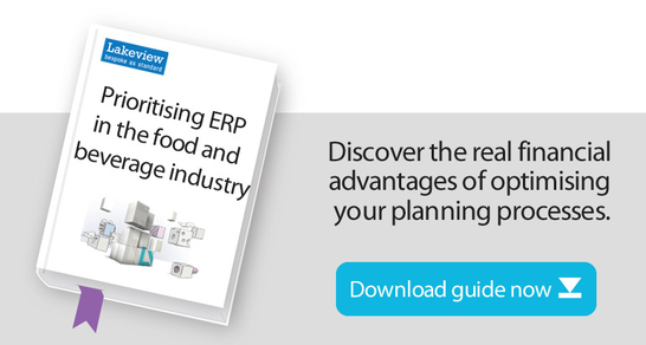 ERP food and beverage system guide cover wide