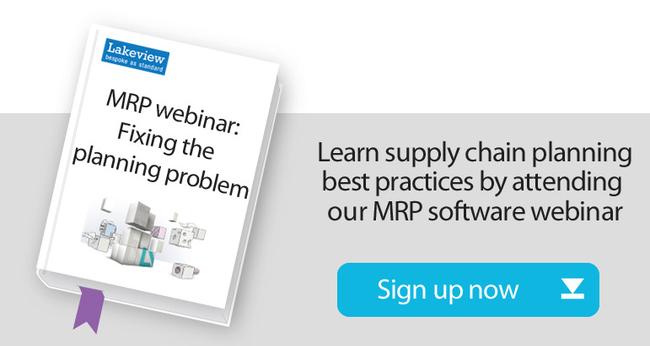 MRP systems webinar