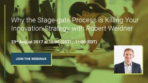 Why the Stage-gate process is killing your innovation strategy webinar