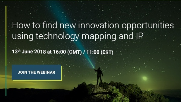 Webinar image for how to find new innovation opportunities