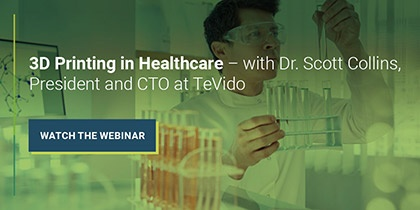 Watch the PatSnap Webinar with Dr Scott Collins, CTO of TeVido