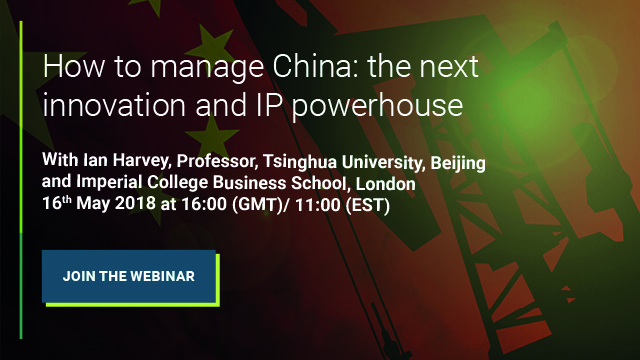 Ian Harvey manage IP in China webinar banner cta