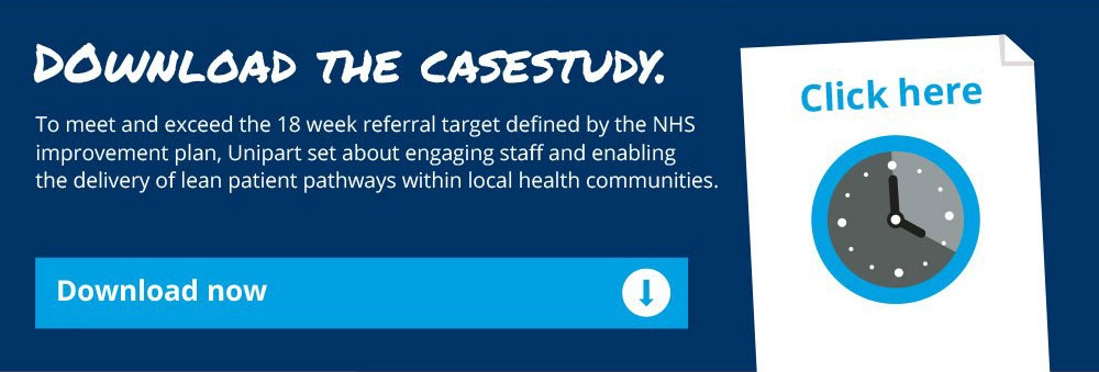 Unipart Healthcare Case Study Improving Outpatient Capacity