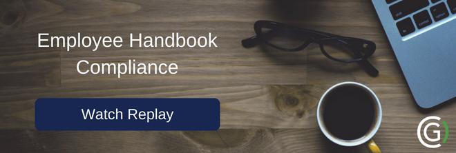 Employee Handbook Compliance