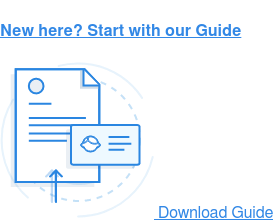 New here? Start with our Guide Download Guide