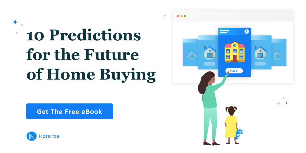 notarize ebook on the future of home buying