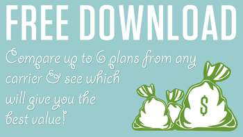 Use this plan comparison tool to compare up to 6 plans and determine which one will give you the best value!