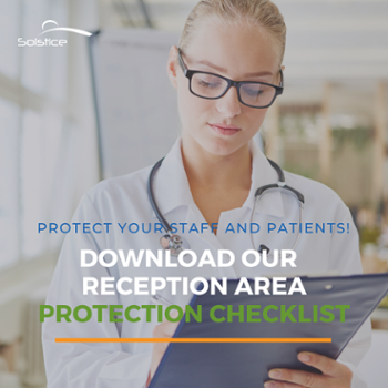 reception area protection checklist