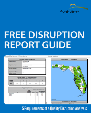 Guide Understanding a Disruption Report