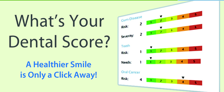 free dental risk score