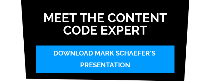 Meet The Content Code Expert Download Mark Schaefer's Presentation