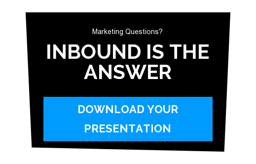 Marketing Questions?  Inbound Is the Answer download your presentation