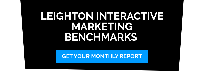 Leighton Interactive Marketing Benchmarks Get Your Monthly Report