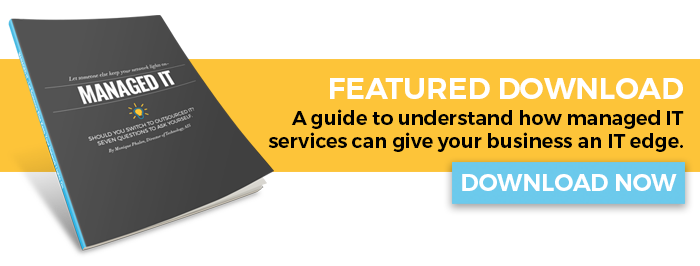 Free ebook. A guide to understand how managed IT services can give your business an IT edge. Download now.