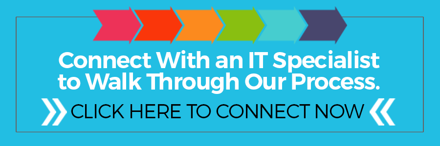 Walk through out process with an IT Specialist