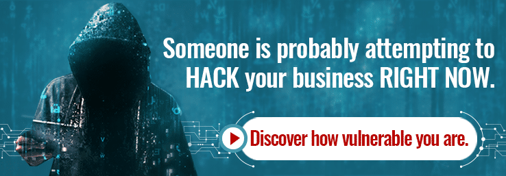Think you won't be hacked just because you're a small business? Think again.