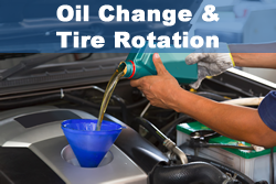 Tire Rotation and Oil Changes in Little Rock