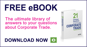 The ultimate library of answers to corporate trade