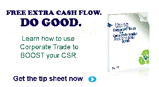 Using Corporate Trade for Corporate Social Responsibility (CSR)