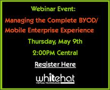 Register for Managing Mobile Enterprise Experience