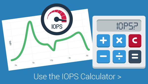 VDI IOPs calculator