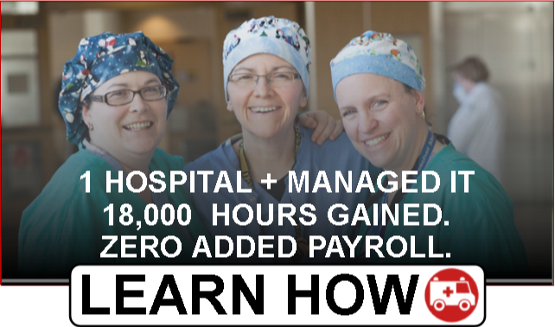 Hospital Saves 18000 Hours with Managed IT