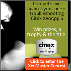 Citrix XenMaster Contest Registration