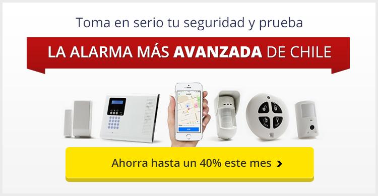 Protege a tu familia con la alarma más avanzada de Chile