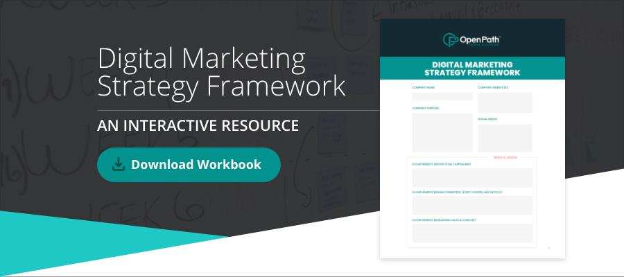 Download the eBook Digital Marketing Strategy Framework