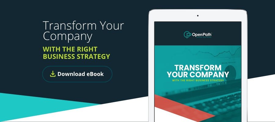 Download the eBook Transform Your B2B Company with the Right Business Strategy