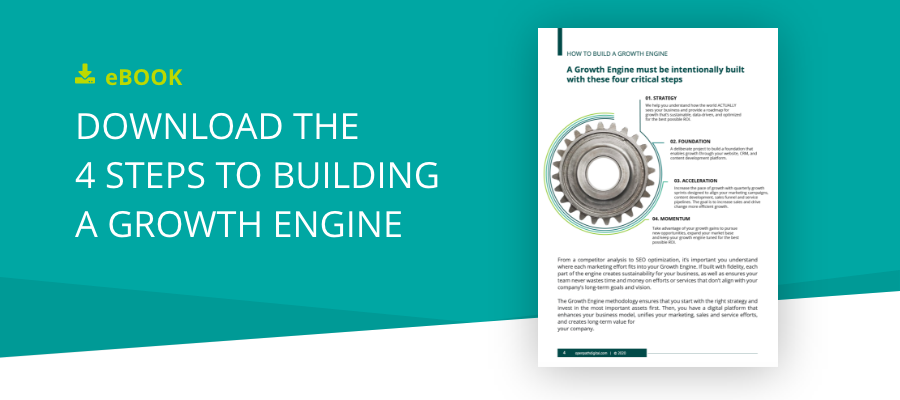 Download the 4 steps to growing a growth engine