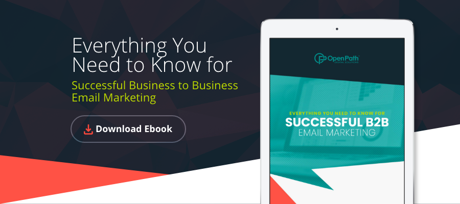 Everything you need to know for successful b2b email marketing