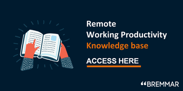Remote working productivity technology