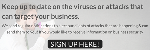 sign up to security information