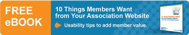 Free eBook - 10 Things Members Want from Your Association Website