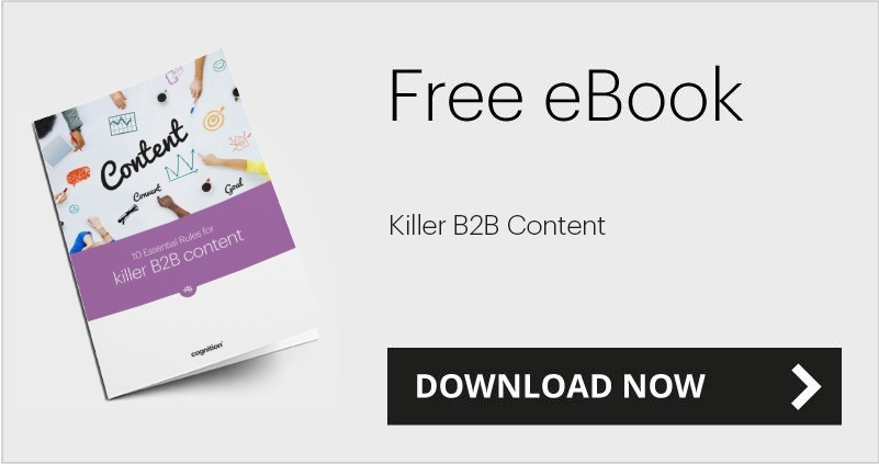 Essential rules for killer B2B content