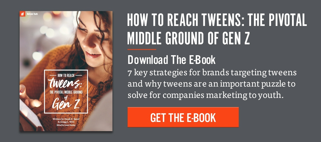 How to reach tweens e-book