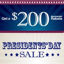 Simonton Windows Presidents' Day $200 Window Rebate